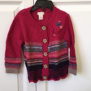 Monsoon toddler sweater